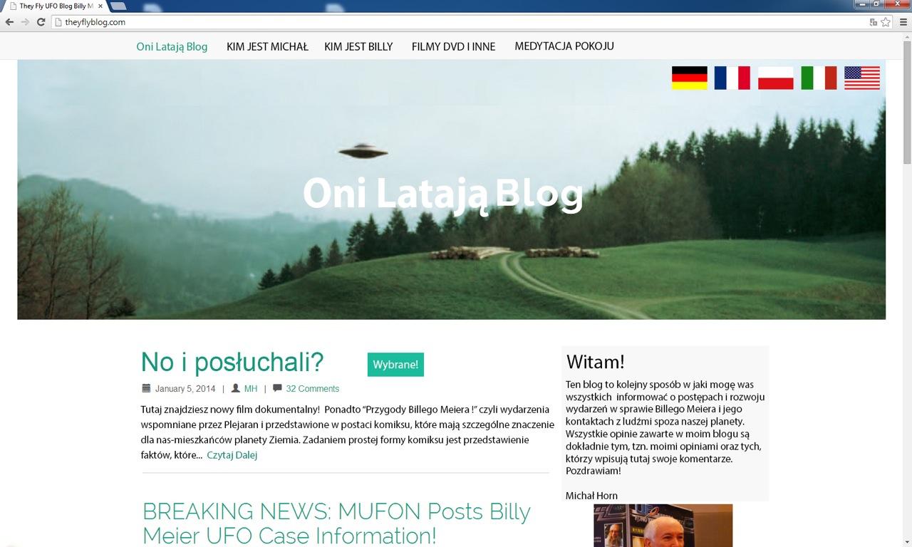 Oni Latają Blog